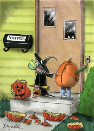 HALLOWEEN CARTOONS - 1