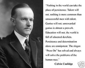 President-Calvin-Coolidge-press-on-Quote-11-x-14-Photo-Poster-Picture