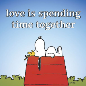 It must suck to know we spend so much time together. awwww almost felt ...