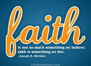 Faith. LDS