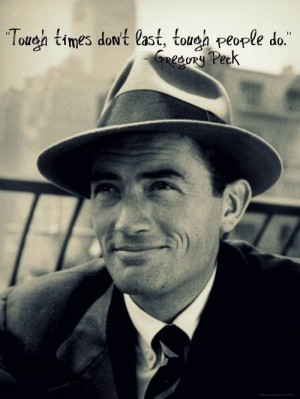 Gregory Peck quote