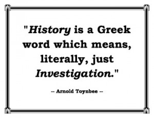 Classroom Display: Great Quotes about History