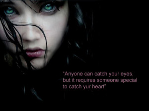 Anyone can catch your eyes,