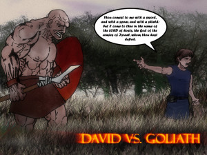 David Vs. Goliath by PointJustice