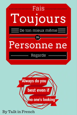 ... Quotes in French to Help You Study NOW! (with English Translation