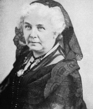 hide caption Elizabeth Cady Stanton helped organize the world's first ...