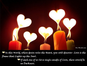 In this World, where desire rules the Heart, you will discover- Love ...