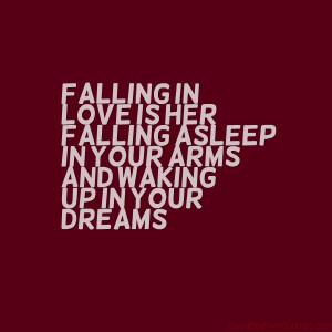 Falling in Love Is