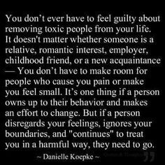 ... if that family member went out of their way to intentionally hurt you