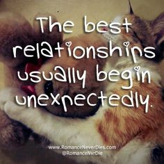 UNEXPECTED LOVE QUOTES | Unexpected Relationships Love Quotes More