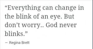 God #never #blinks