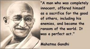 Mahatma gandhi famous quotes 1