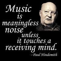 ... conductor, violinist, violist and teacher Paul Hindemith (1895-1963