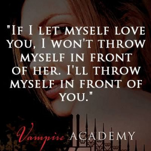 ... ll throw myself in front of you.