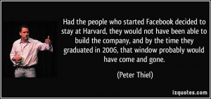 More Peter Thiel Quotes
