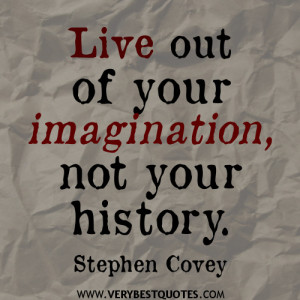 Stephen Covey quotes - live out