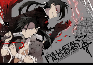 Full Metal Alchemist Ling Yao and Greed/Ling