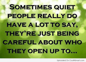 Shyness Quotes, Sayings about being shy