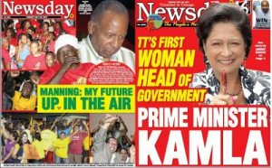 KAMLA PERSAD-Bissessar, 58, will be sworn in as Trinidad and Tobago ...