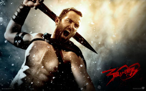 300 rise of an empire movie 2014 sullivan stapleton as themistocles hd ...