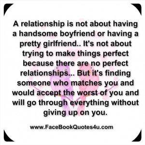 relationship is not about having a handsome boyfriend or having a ...
