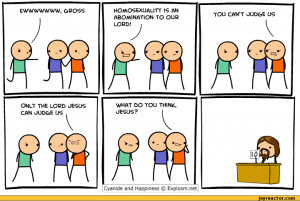 ... Happiness :: jesus :: gay :: comics (funny comics & strips, cartoons