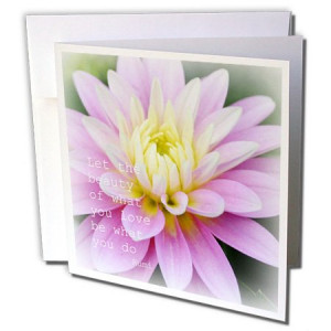 Sanders Flowers - Beauty Dahlia Rumi Floral Inspirational Quotes ...