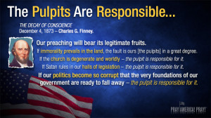 The Pulpits Are Responsible