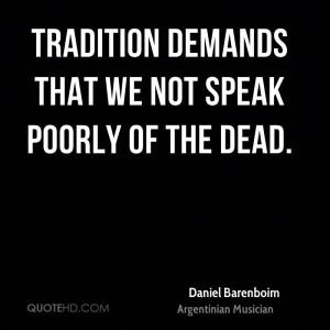 Daniel Barenboim Death Quotes