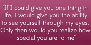 Love Quotes to That Special Person
