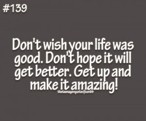 make it amazing!