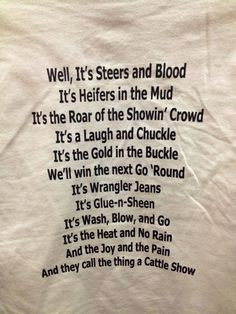 ... Quotes, Tid Bit, Farms Things, Country Flare, Cattle Quotes, 4-H Songs