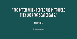 an analysis of some words of wisdom from miep gies