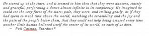 Neil Gaiman Quote Stardust