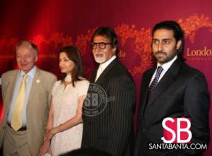 Mayor of London, Ken Livingstone with Bachchans