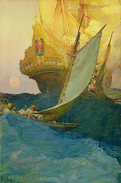 Howard Pyle | Lines and Colors :: a blog about drawing, painting ...