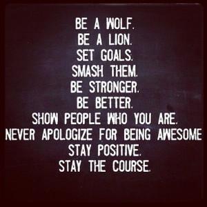 ... gebruiken: de leukste inspirational quotes over je doelen bereiken