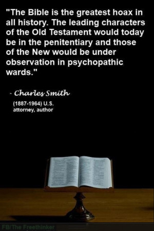 Charles Smith quote.