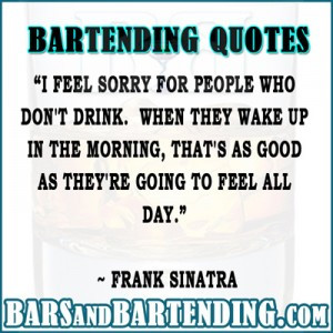 Bartending Quotes