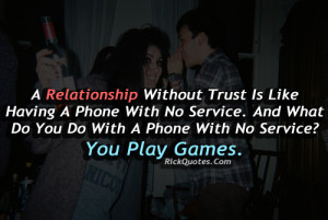 relationship quotes relationship without trust relationship quotes ...