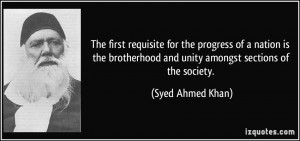 Quotes About Unity And Brotherhood
