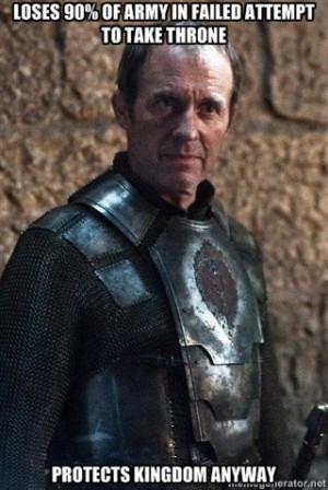 Stannis Baratheon Meme