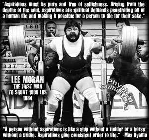 Powerlifting Quotes Motivational Mas oyama, motivation
