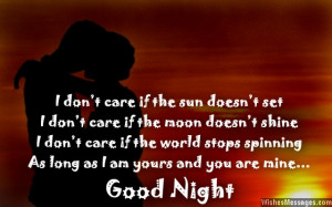 Goodnight Sweetheart Quotes Good night sweetheart.