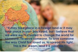 Katie Davis quote