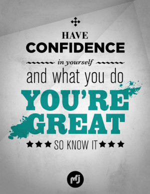 confidence building quotes for men