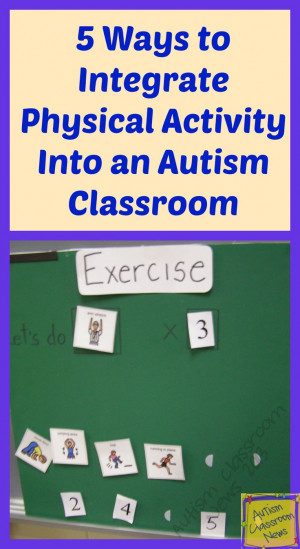 ... Physical Activity into an Autism Classroom: Student, Education Teacher