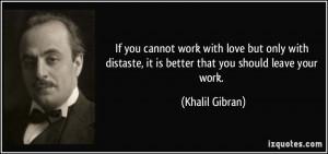 Gibran Poet Work Love Made