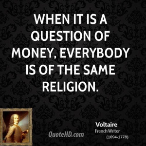Voltaire Quotes On Religion