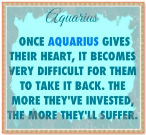 Quotes About Aquarius Men